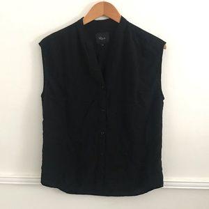 Rails Medium black sleeveless top